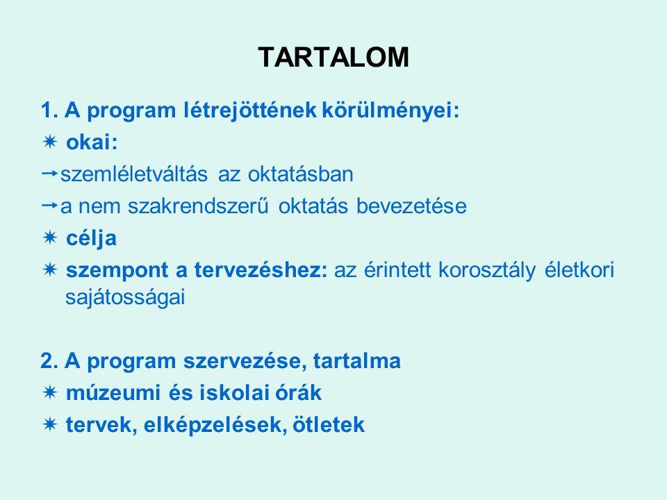 TARTALOM 1.