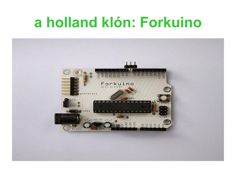a holland klón: Forkuino