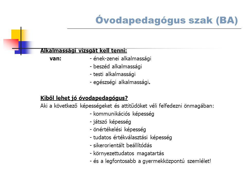 Alkalmassági vizsgát kell tenni: van:- ének-zenei alkalmassági - beszéd alkalmassági - testi alkalmassági - egészségi alkalmassági.