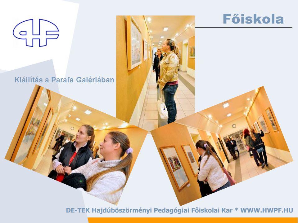 Főiskola Kiállítás a Parafa Galériában