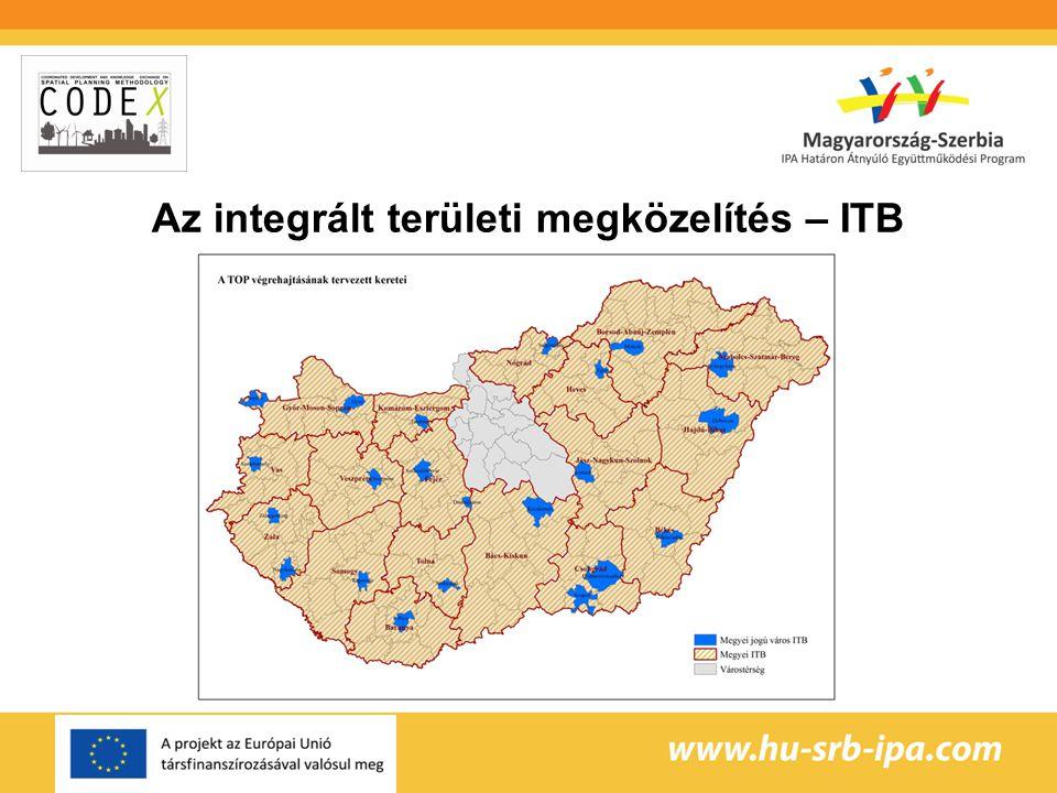 Az integrált területi megközelítés – ITB