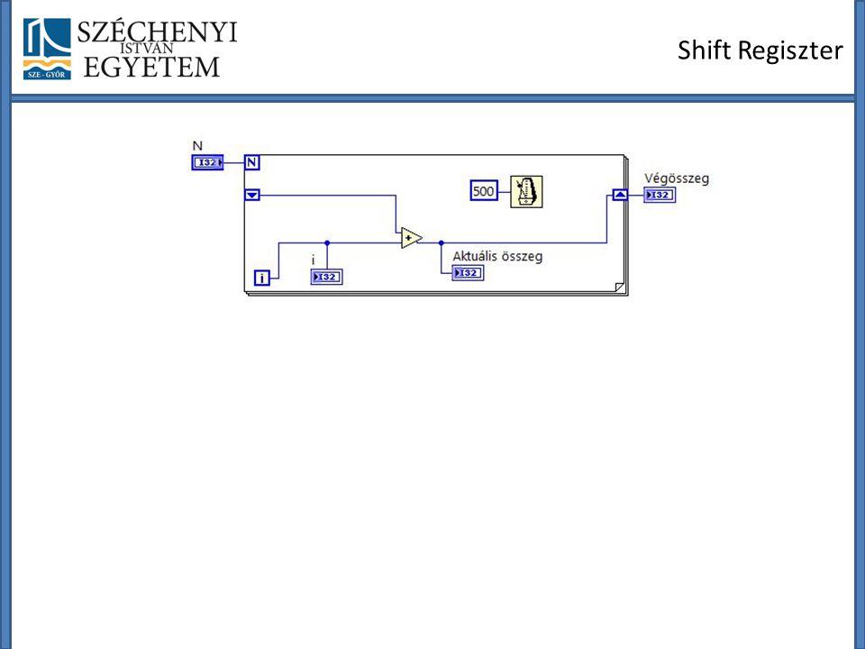 Shift Regiszter