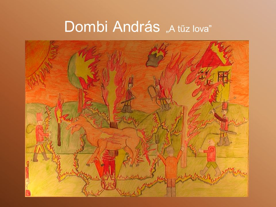 "Dombi András ""A tűz lova"