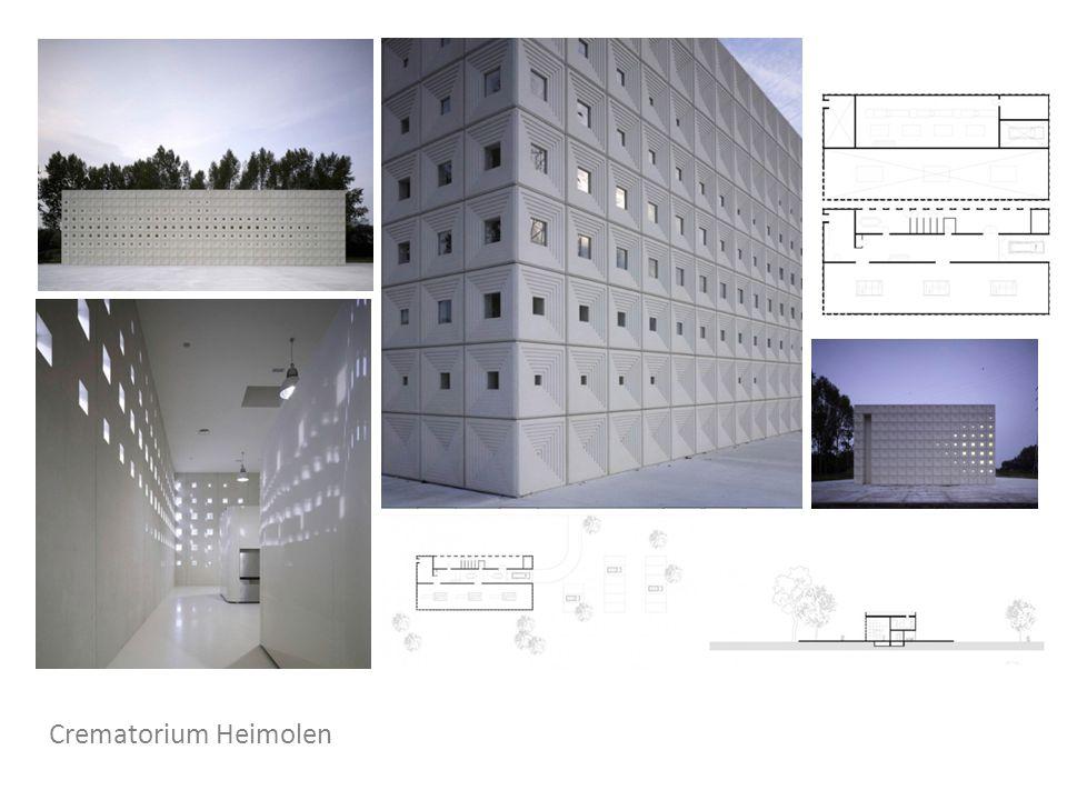 Temető fogadóépület, Heimolen