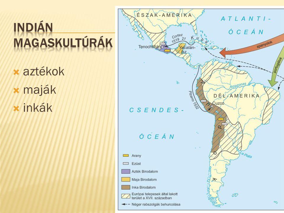  aztékok  maják  inkák