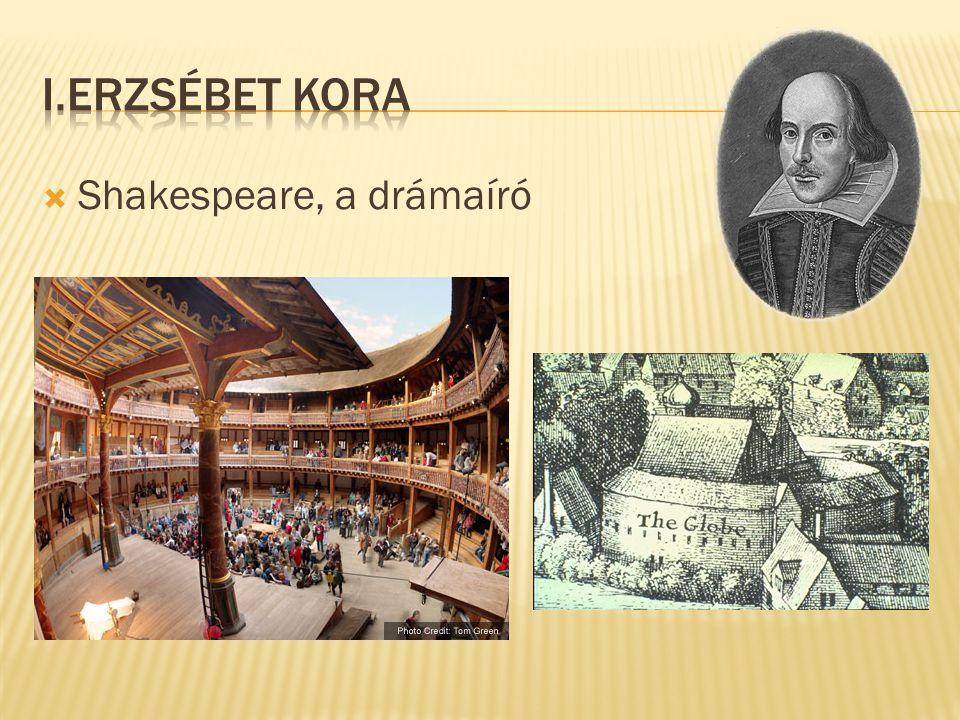  Shakespeare, a drámaíró