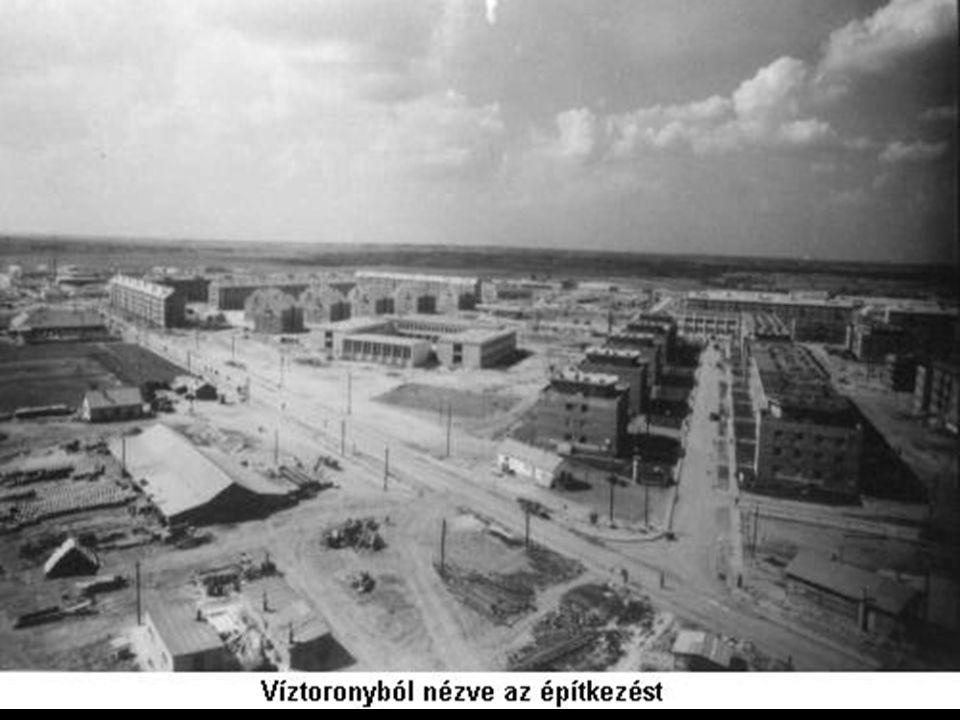 Egyéb nehézipari beruházások - Diósgyőr (Miskolc): vas-és acélgyártás - Kazincbarcika: erőmű, vegyipar, szénbányászat - Ózd: vas-és szánbányászat - Leninváros: vegyipar, erőmű - Várpalota vegyipar, erőmű, alumíniumkohászat - Ajka: timföldgyártás - Komló: feketeszén (1955-től Sztálinvárosba) - Tatabánya, Dorog, Salgótarján: szénvárosok