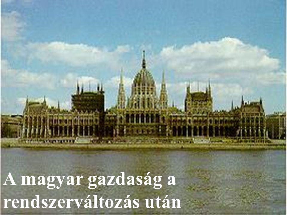 A magyar gazdaság a rendszerváltozás után