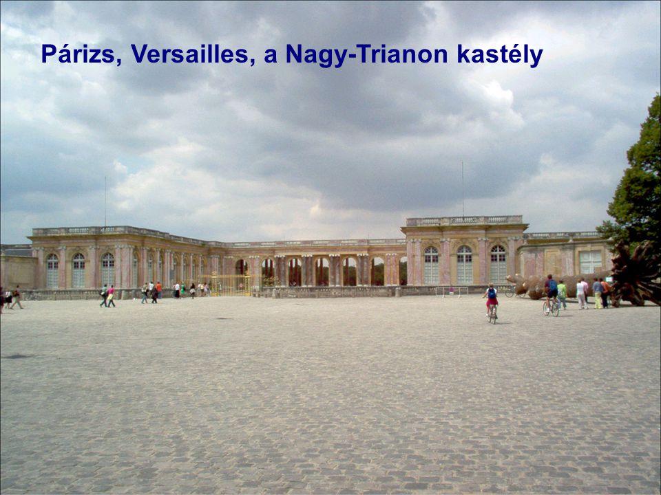 Párizs, Versailles, a Nagy-Trianon kastély