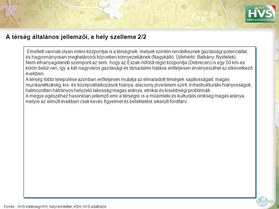 9 Emellett vannak olyan mikro központjai is a térségnek, melyek szintén rendelkeznek gazdasági potenciállal, és hagyományosan meghatározói közvetlen környezetüknek (Nagykálló, Újfehértó, Balkány, Nyírtelek).