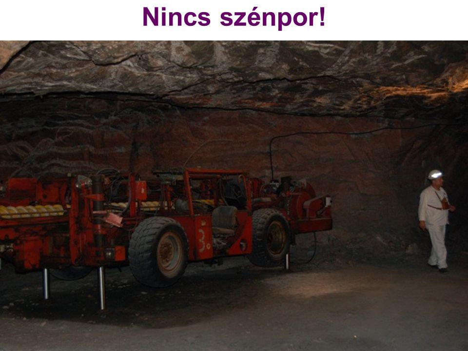 Nincs szénpor!