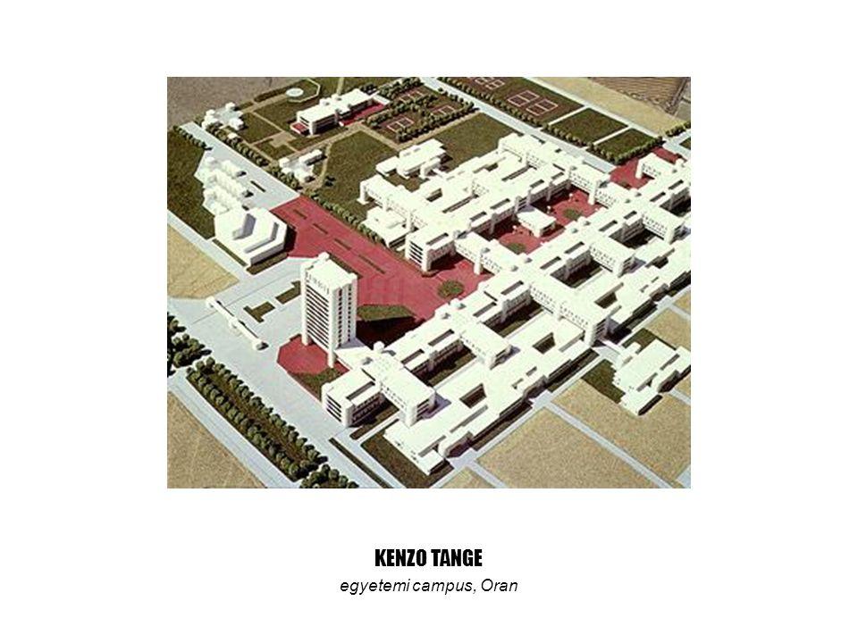 KENZO TANGE egyetemi campus, Oran