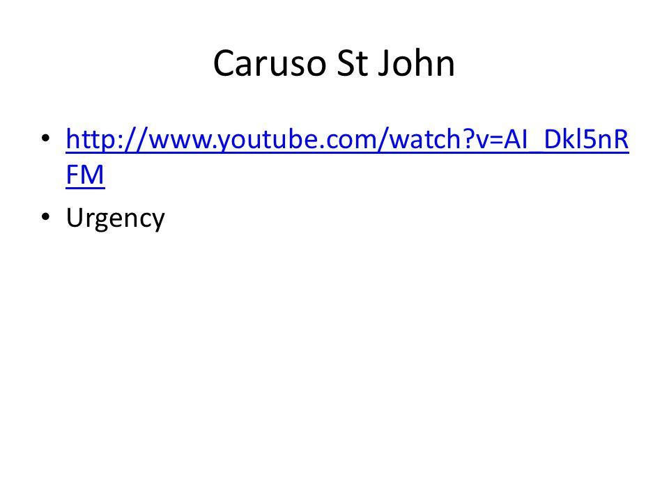 Caruso St John http://www.youtube.com/watch?v=AI_Dkl5nR FM http://www.youtube.com/watch?v=AI_Dkl5nR FM Urgency