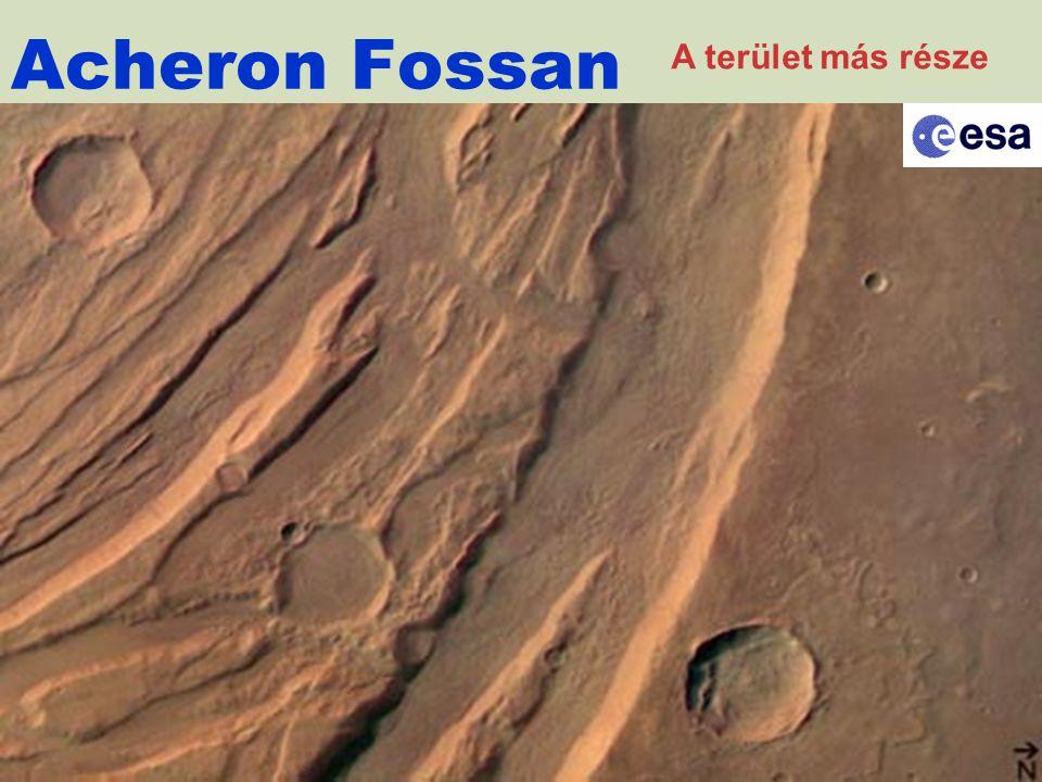 Acheron Fossan A terület más része