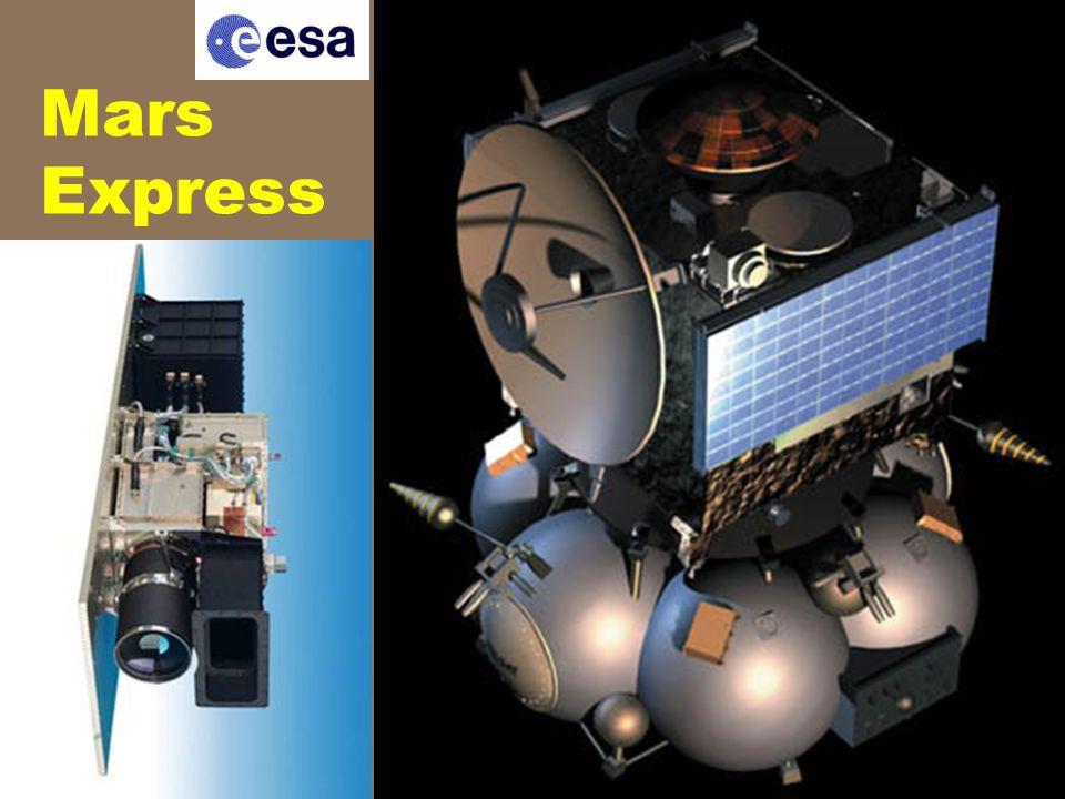 7 tudományos műszer (113 kg) nagyfelbontású sztereo kamera, ásványösszetételt térképező kamera (látható + infravörös) radar (a felszín alatti szerkezetek vizsgálatára) spektrométer (UV + IR) a légkör vizsgálatára