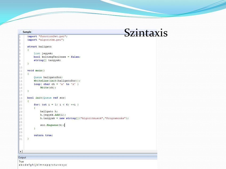 Fordítás gépi kódra Miből mi lesz a négy lépés alatt az ábra alapján. Eredmény a Microlex kód.