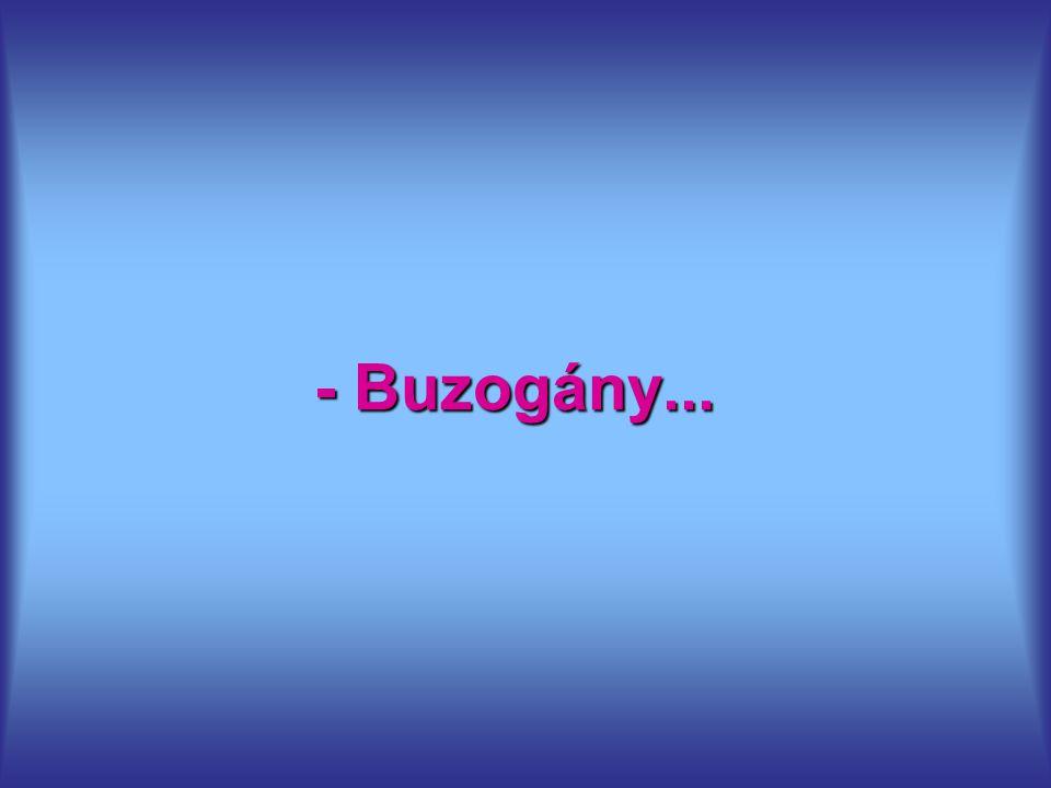 - Buzogány...