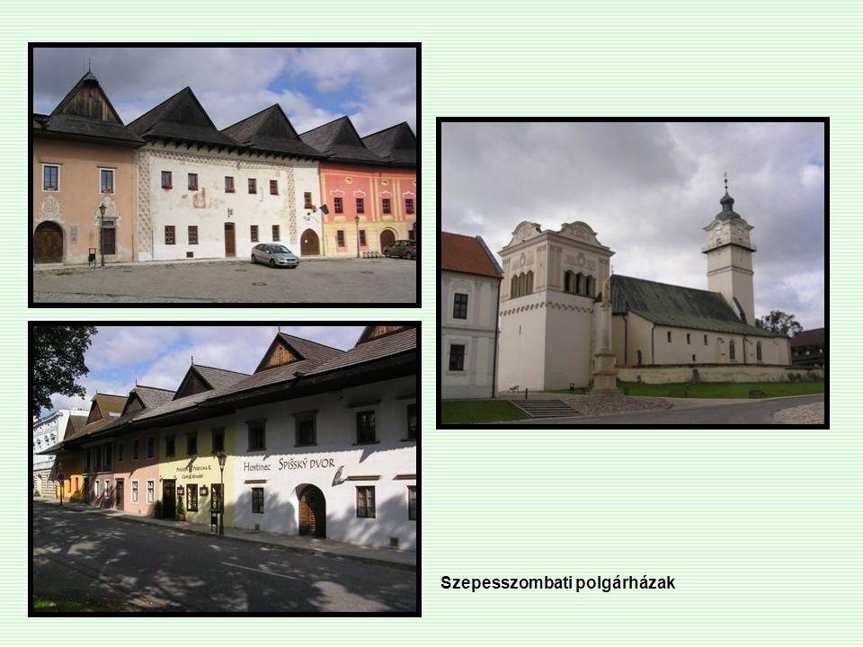 Szepesszombati polgárházak