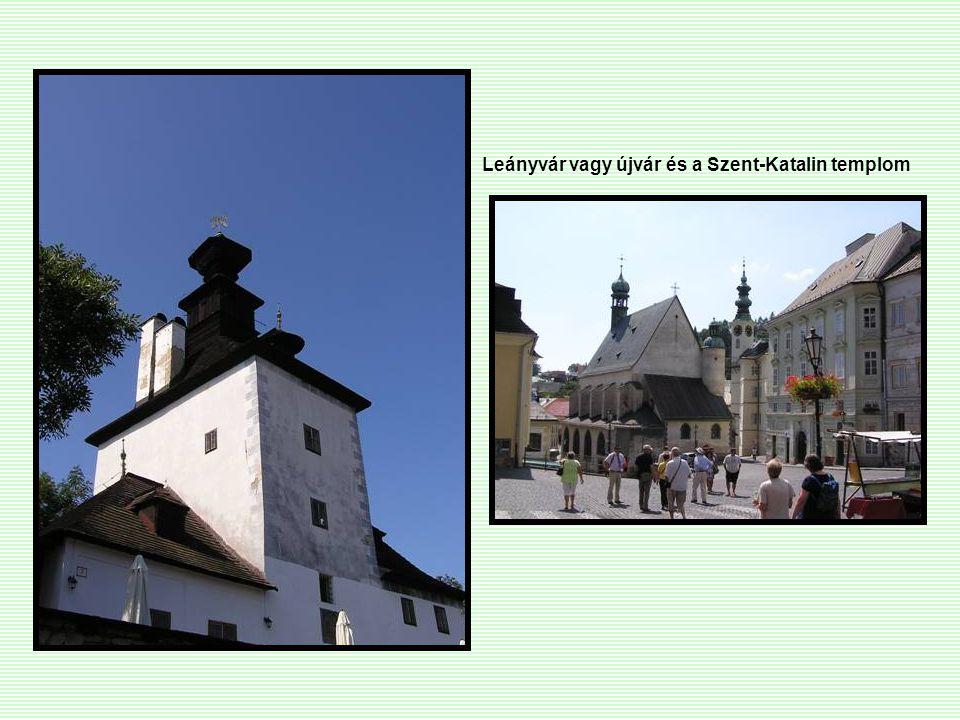 Leányvár vagy újvár és a Szent-Katalin templom