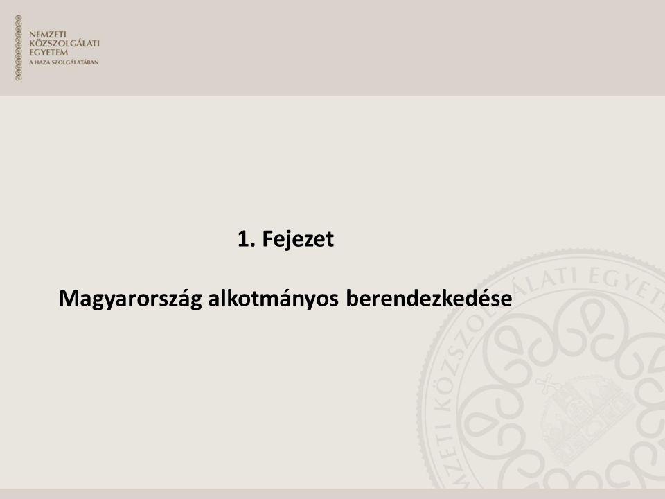 Magyarország Alaptörvénye Az ország alaptörvénye  Formai szempontból: a jogforrási rendszer csúcsa különös eljárási rendben alkotják.