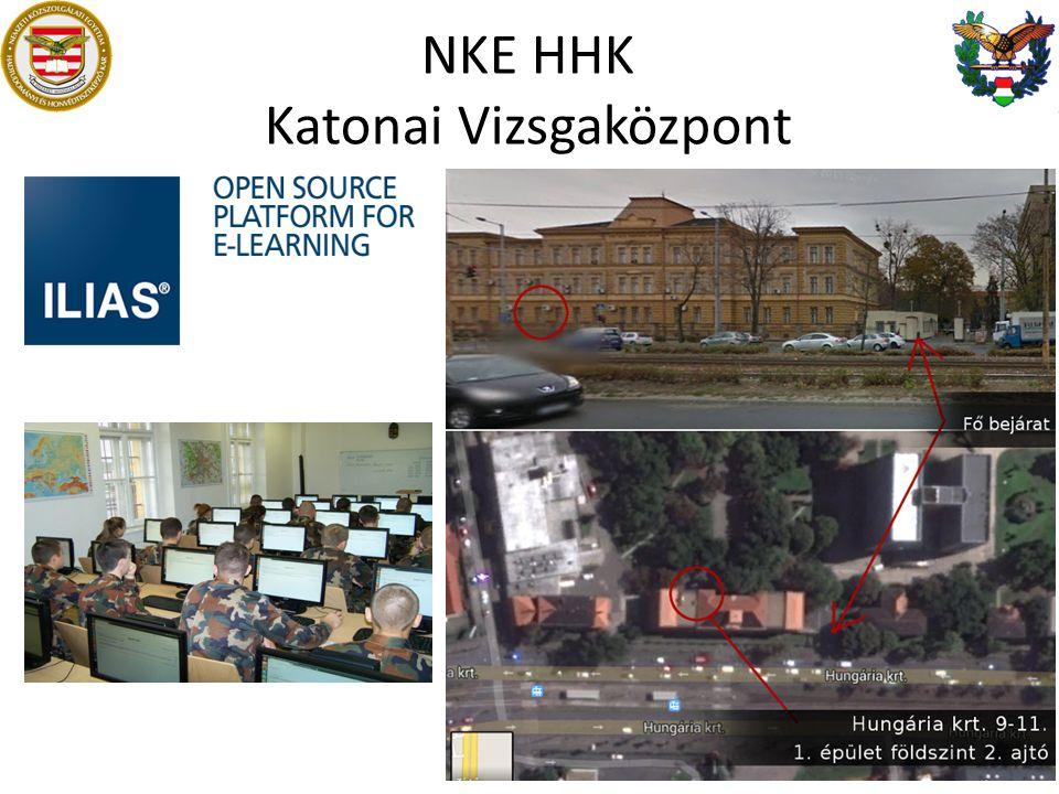 NKE HHK Katonai Vizsgaközpont