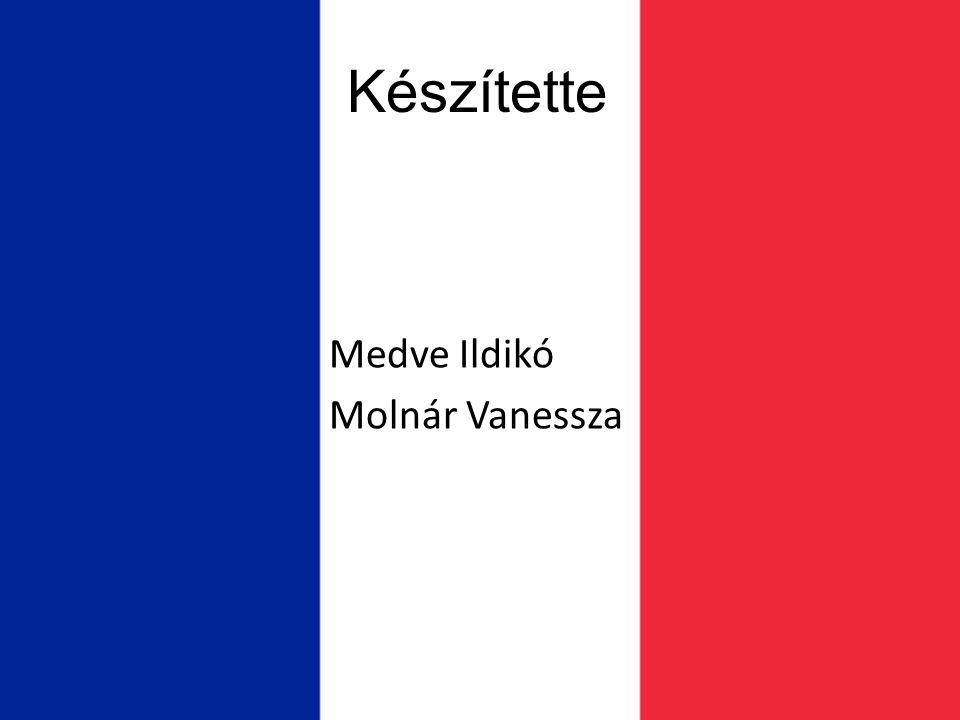Készítette Medve Ildikó Molnár Vanessza