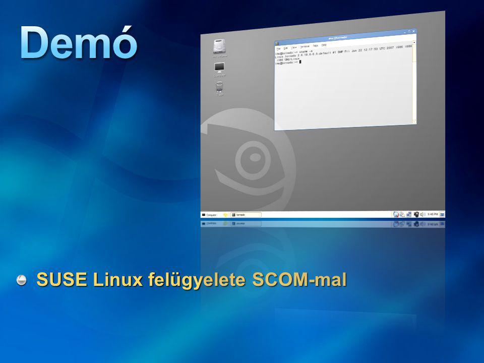 SUSE Linux felügyelete SCOM-mal