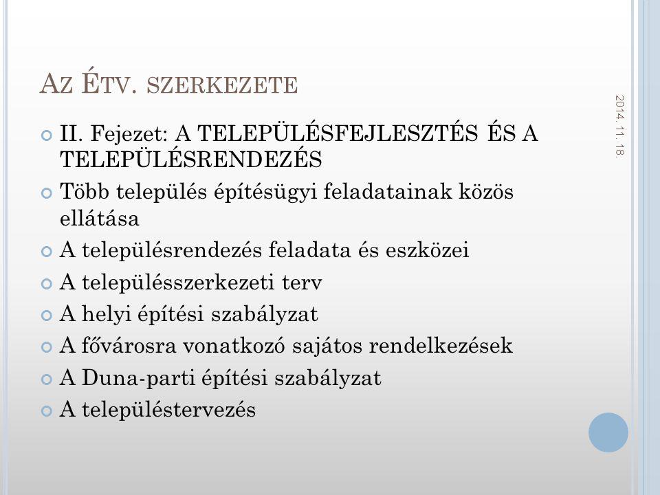 A Z É TV.SZERKEZETE II.