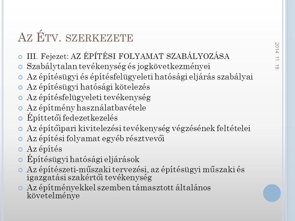 A Z É TV.SZERKEZETE III.