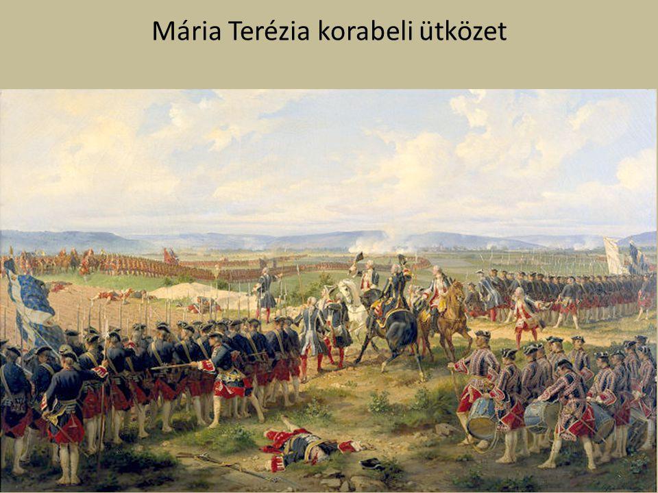 Mária Terézia korabeli ütközet