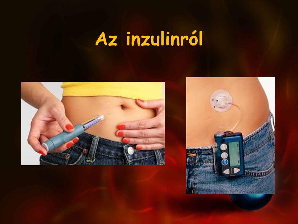 Az inzulinról