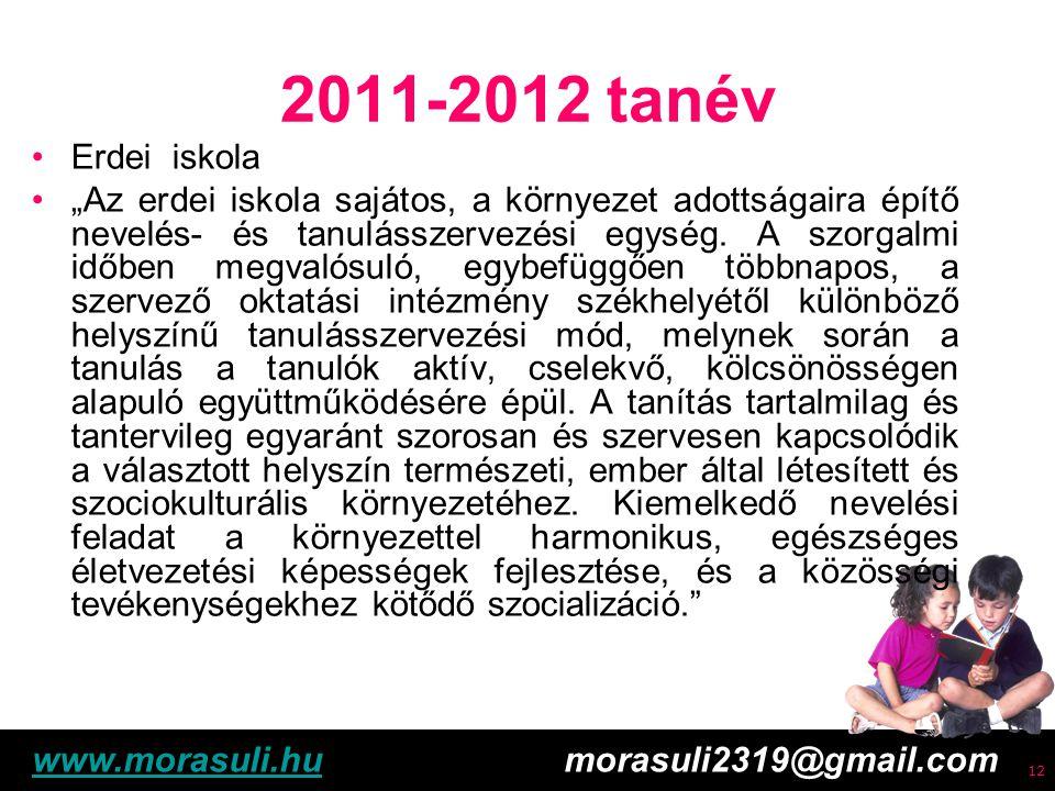 Free powerpoint template: www.brainybetty.com 13 2011-2012 tanév Erdei iskola 3-8.