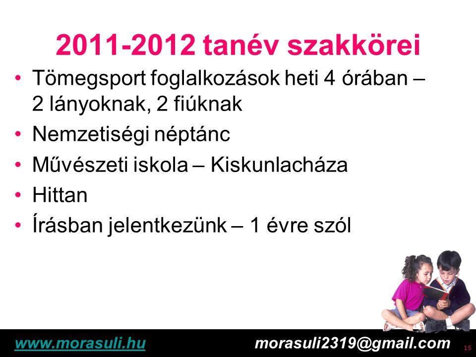 Free powerpoint template: www.brainybetty.com 16 2011-2012 tanév Fogadó órák – tájékozódjanak a faliújságon Igazgató: hétfő-kedd 10-12 óra Ebédbefizetések: havonta 2 alkalommal - értesítést küldünk www.morasuli.huwww.morasuli.hu morasuli2319@gmail.com