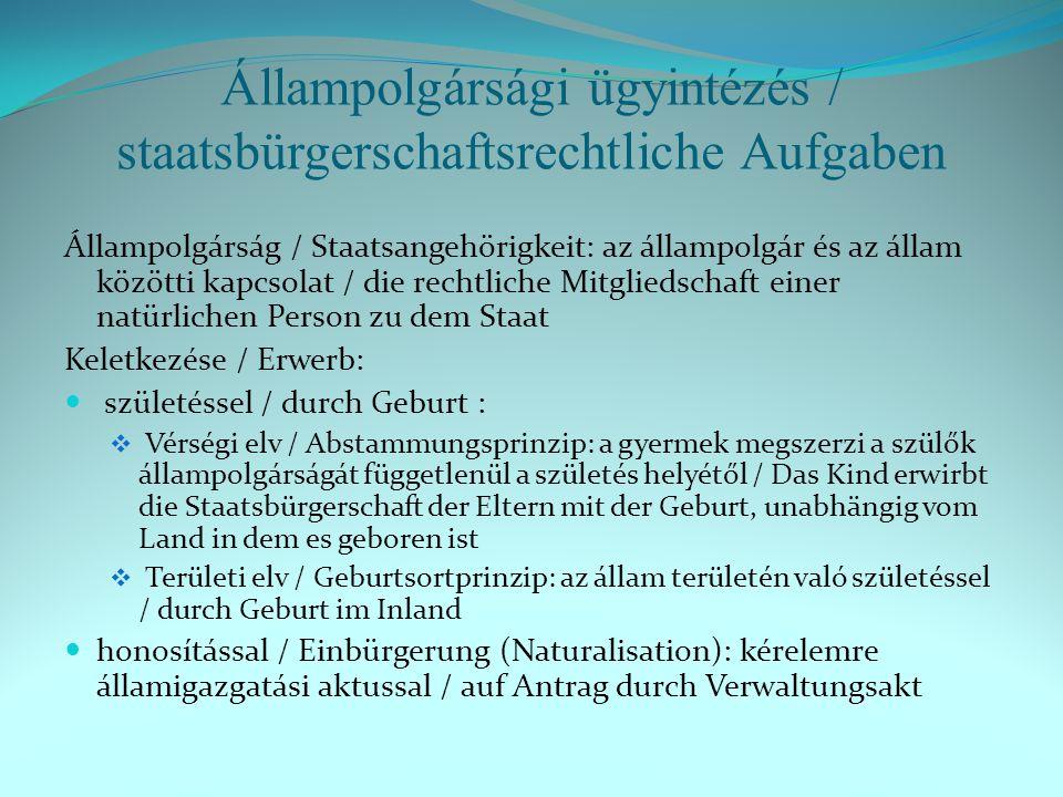 Menekültek / Flüchtlinge Állampolgárság / Staatsangehörigkeit 2012.