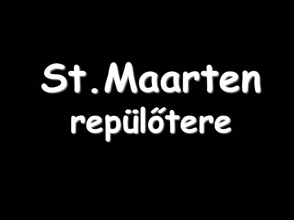 St.Maarten repülőtere
