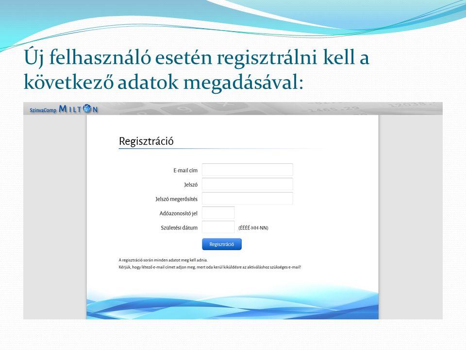 Regisztráció után a megadott e-mail címre egy megerősítő levelet küldünk: Szintén e-mailben kap értesítést a dolgozó arról is, hogy milyen típusú dokumentum vált számára elérhetővé.