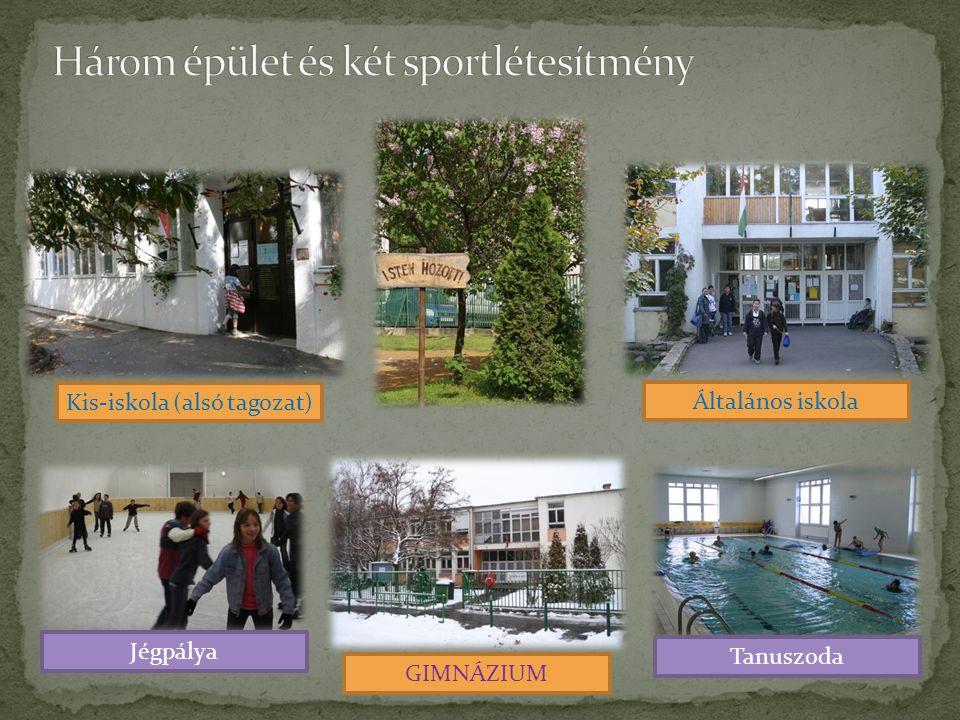 Kis-iskola (alsó tagozat) Általános iskola GIMNÁZIUM Tanuszoda Jégpálya