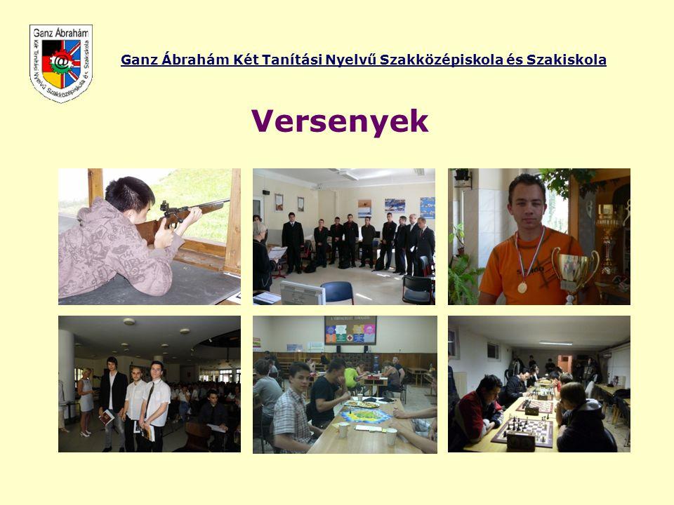 Ganz Ábrahám Két Tanítási Nyelvű Szakközépiskola és Szakiskola Versenyek