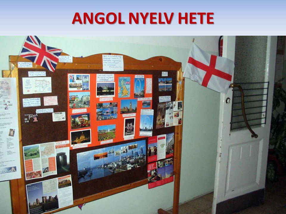 ANGOL NYELV HETE