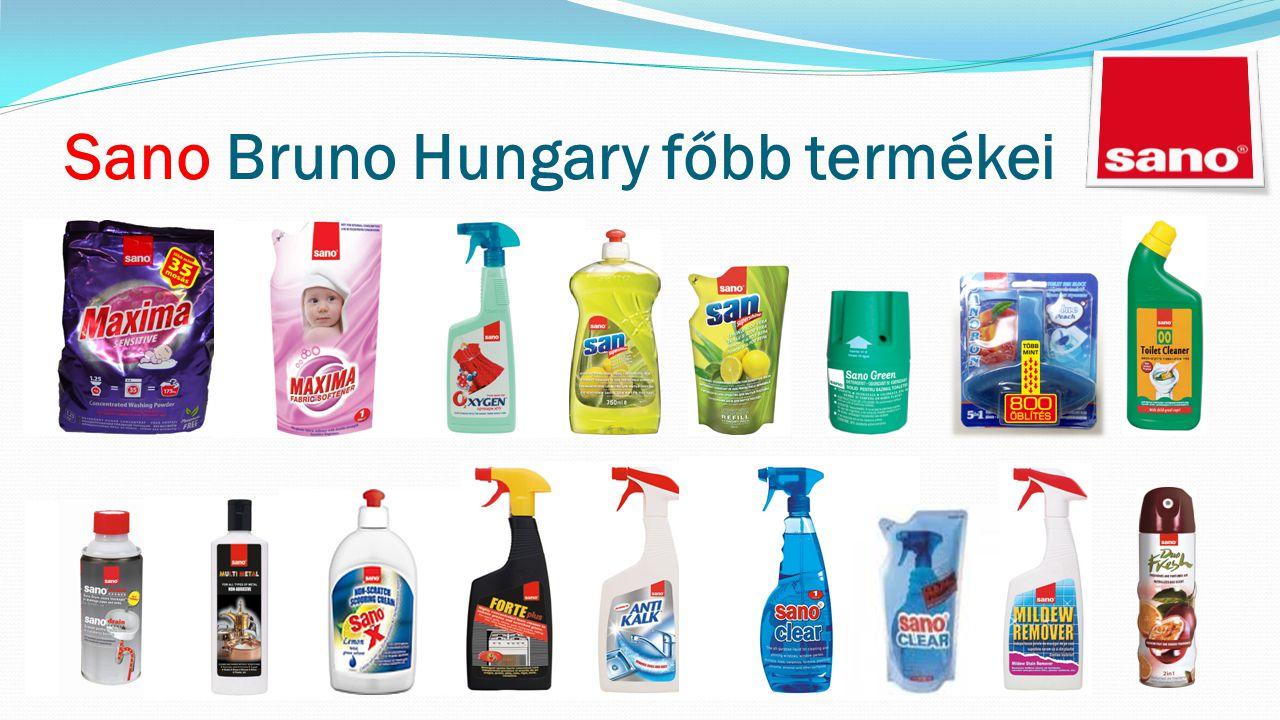 Sano Bruno Hungary főbb termékei