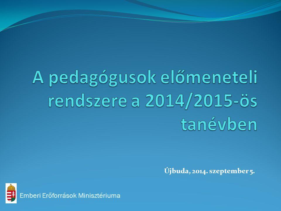 Emberi Erőforrások Minisztériuma Újbuda, 2014. szeptember 5.