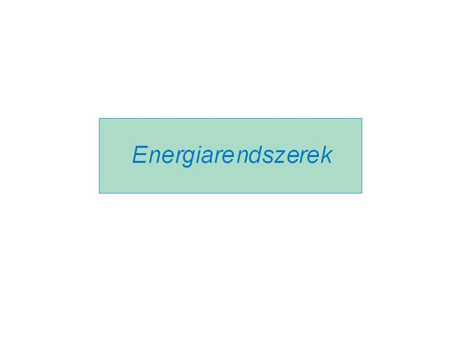 Energiarendszer