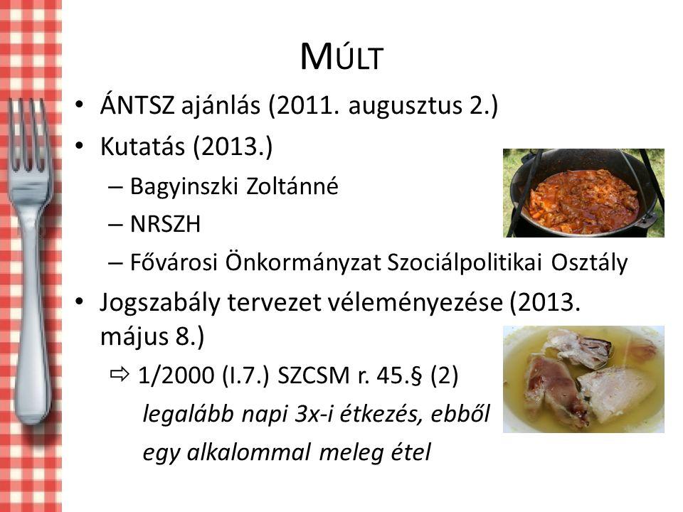 M ÚLT ÁNTSZ ajánlás (2011.