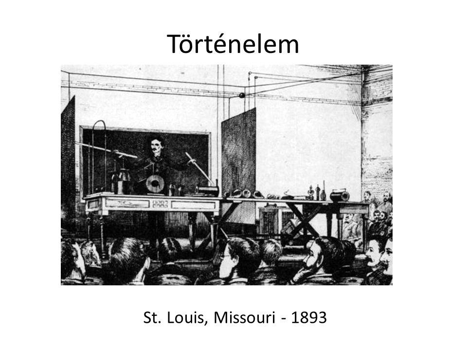 Történelem St. Louis, Missouri - 1893