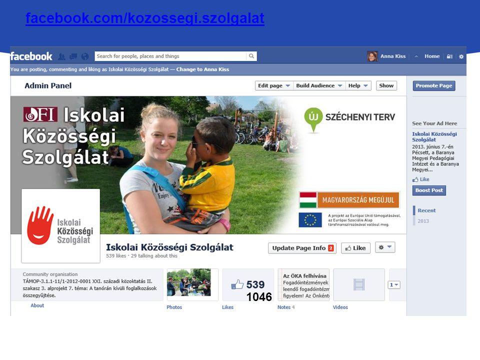 facebook.com/kozossegi.szolgalat 1046