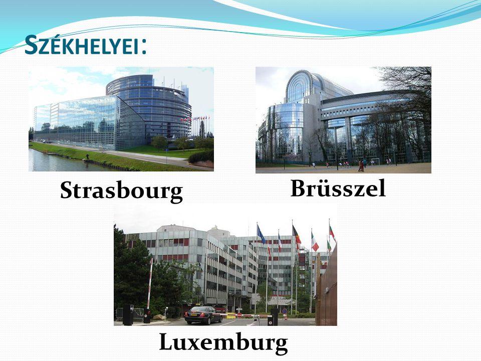 S ZÉKHELYEI : Brüsszel Strasbourg Luxemburg