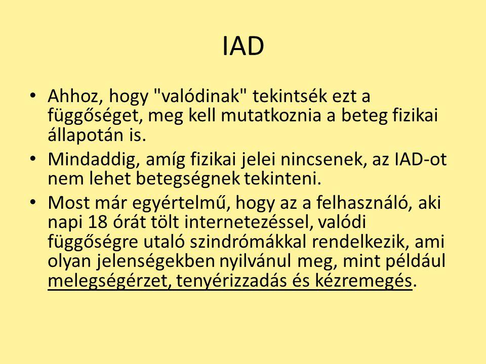 IAD Ahhoz, hogy