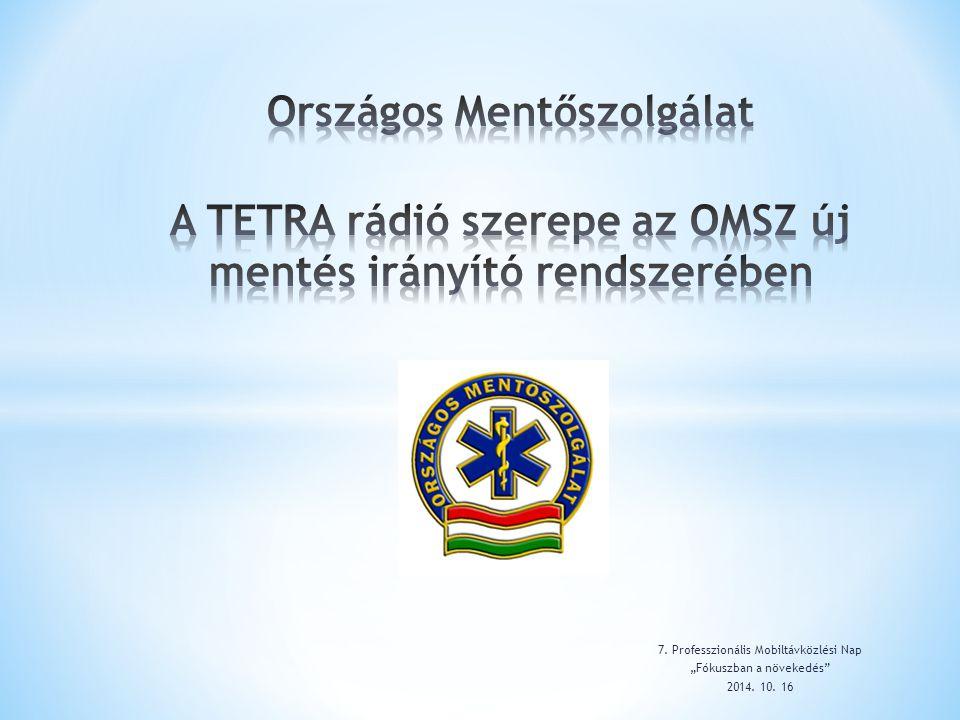 """7. Professzionális Mobiltávközlési Nap """"Fókuszban a növekedés"""" 2014. 10. 16"""