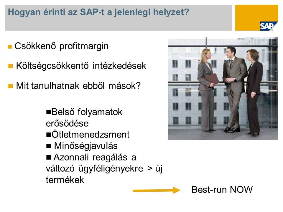 Hogyan érinti az SAP-t a jelenlegi helyzet.