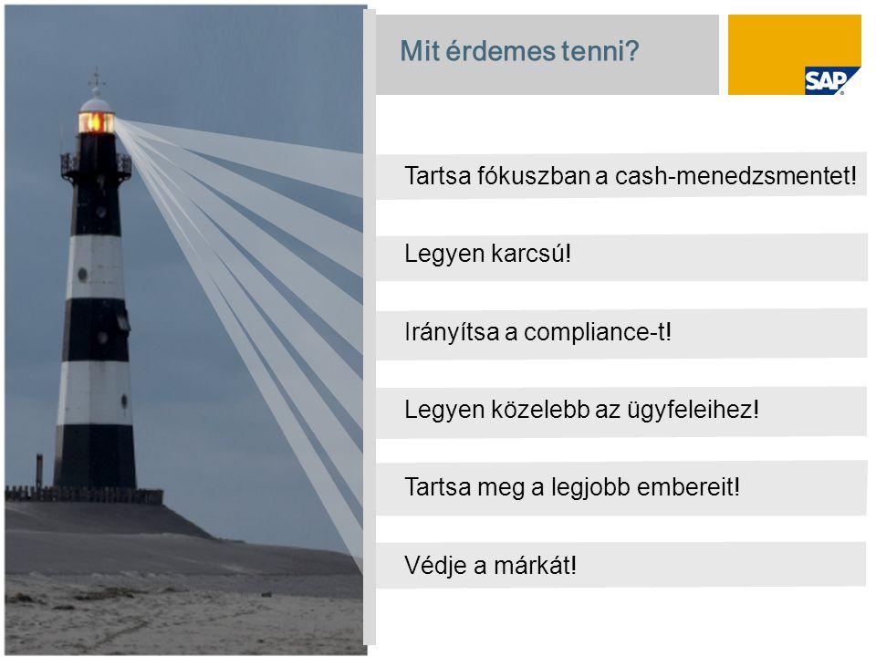 © SAP 208 / Page 18 Mit érdemes tenni. Tartsa fókuszban a cash-menedzsmentet.